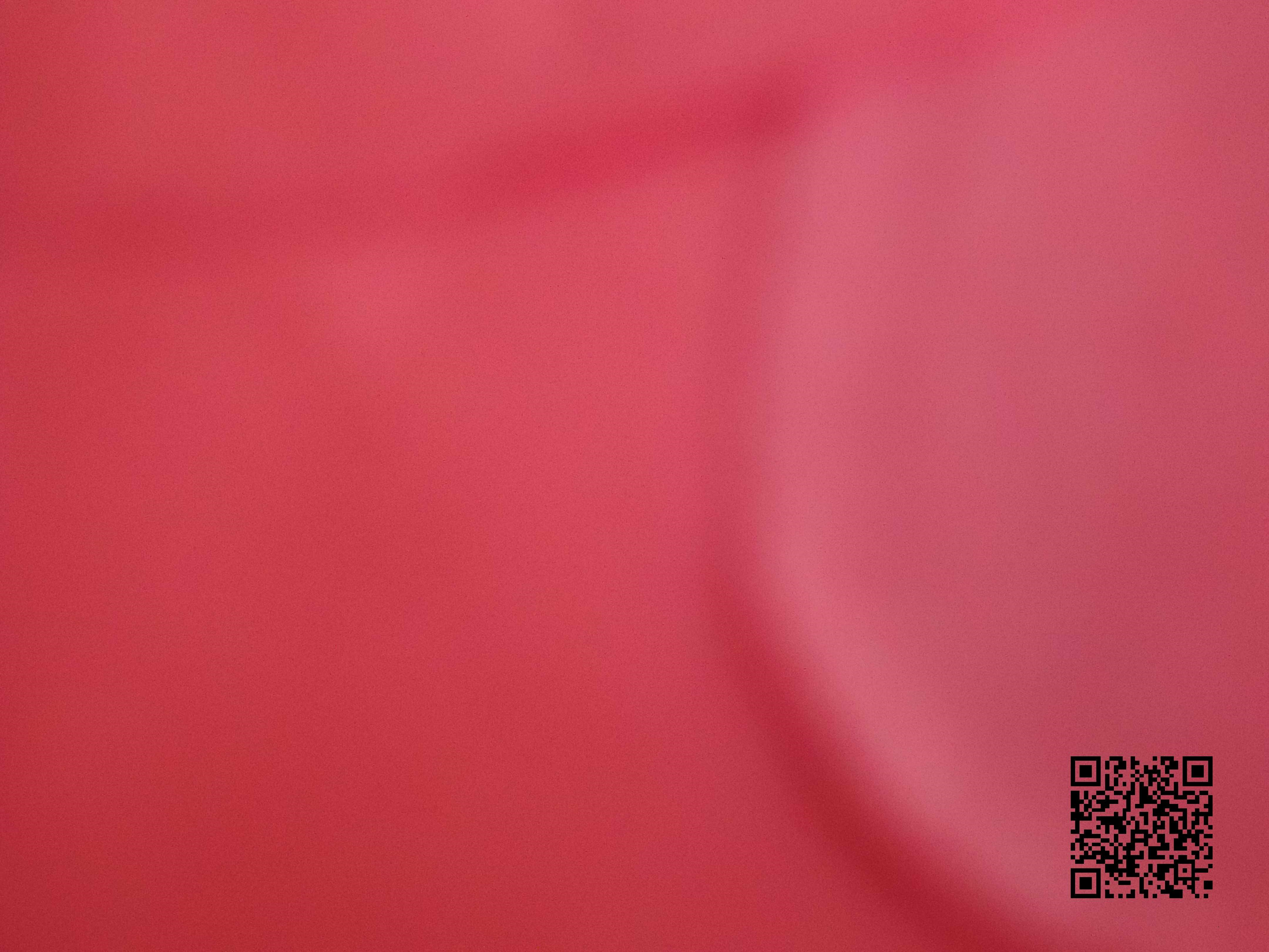 image of red with QR code